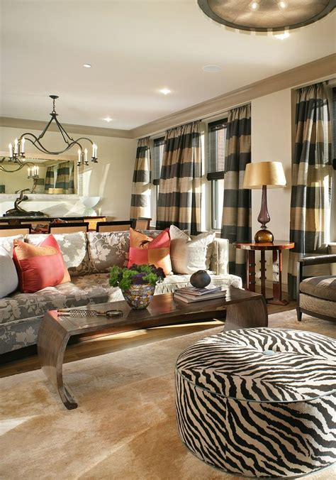 transitional home decor decorating ideas terrific black and tan striped curtains decorating ideas