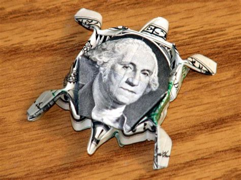 Dollar Origami Turtle - 290 best images about origami money on money