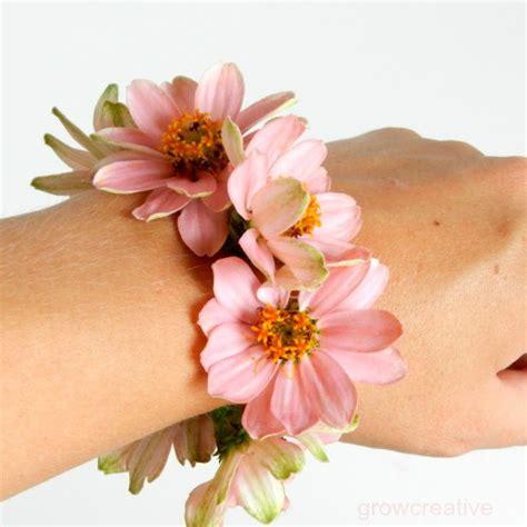 Corsage Flowers by Grow Creative Fresh Flower Wrist Corsage