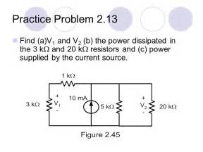 how to calculate resistor power dissipation basic electrical circuit 1 ppt