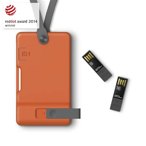 Usb Id Card usb id card holder orange elago europe