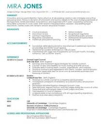 solicitor cv exle for livecareer