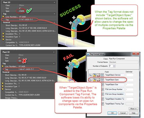 patpat79 autocad plant 3d specialist piping p id can t change pipe properties spec autodesk community