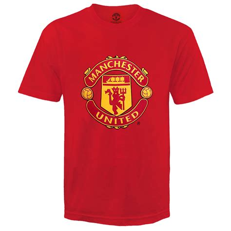 Tshirt Manchester United 4 Roffico Cloth manchester united fc official football gift crest t