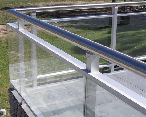 barandillas de aluminio y cristal barandilla de aluminio con cristal cerrajeria alfaz