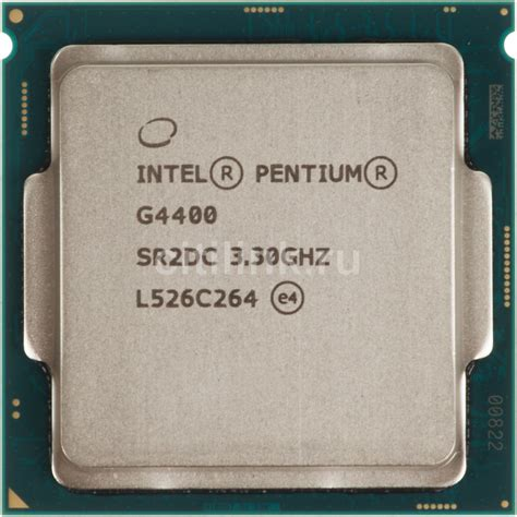 Intel Pentium G4400 Lga 1151 Skylake Processor процессор intel pentium dual g4400 по цене 3950 рублей в интернет магазине ситилинк
