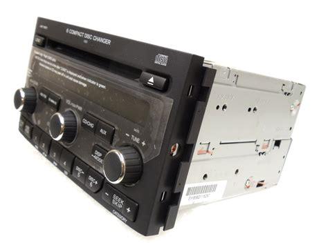 honda pilot navigation gps system xm radio  disc changer cd player av oem ebay