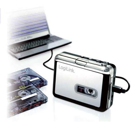 convertitore cassette mp3 logilink iusb2 cassette riproduttore convertitore di