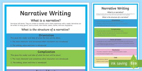 essay structure ks2 year 5 narrative writing structure a4 display poster australia
