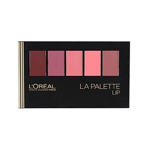 L Oreal La Palette Ombre the limited edition colour riche la palette lip in highly pigmented shades with