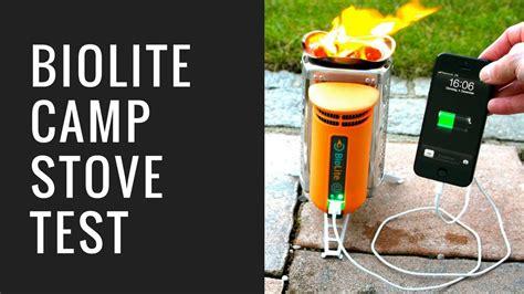 lade a batterie handy akku mit feuer laden biolite c stove test das