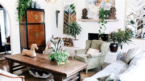 interior design eclectic style vintage youtube