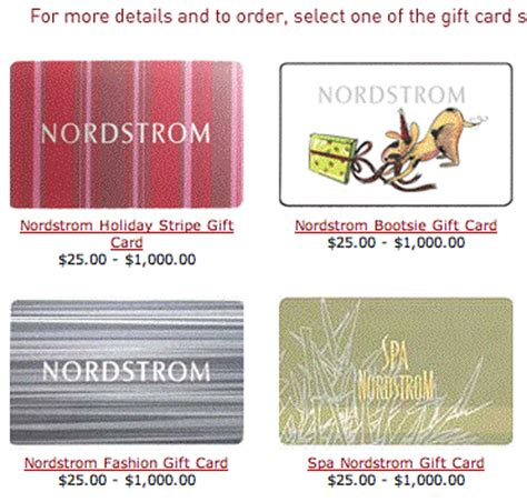 nordstrom christmas cards 37signals 187 e commerce ideas 187 gift cards and certificates 187 you ve got the look