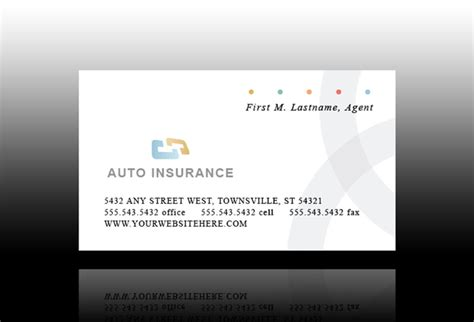 insurance business card templates free usage based car insurance best car insurance prices