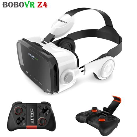 Vr Cardboard Third Generation Leather Mount 3d Reality aliexpress buy 2017 bobovr z4 with gamepad leather 3d glasses reality vr headset