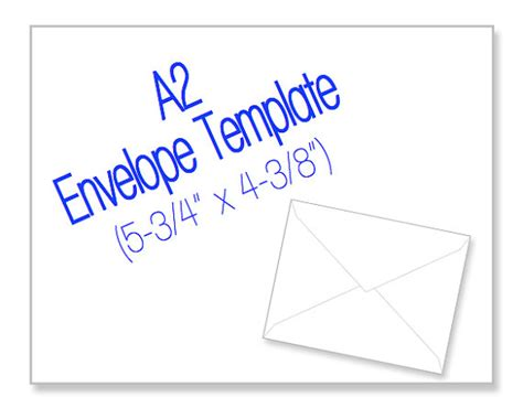 a2 card template 8 best images of a2 envelope templates printable