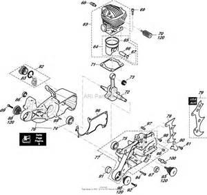 dolmar ps 6400 c chain saws gasoline parts diagram for cylinder crankcase