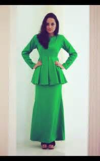 pattern baju kurung peplum fesyen baju kurung moden dan baju kurung peplum koleksi