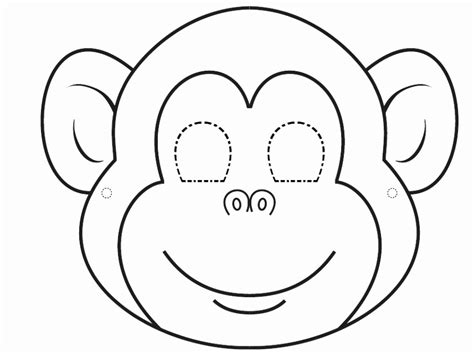 coloring pages exles 5 face mask templates printable kixty templatesz234