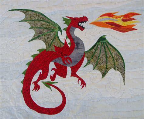 etsy dragon pattern dastardly dragon appliqu 233 pattern by aotearoaquiltdesign