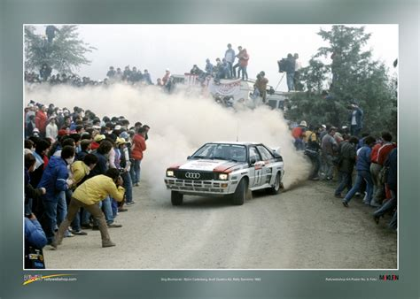 Audi Poster by Audi Quattro A2 Poster Rallywebshop Rallywebshop