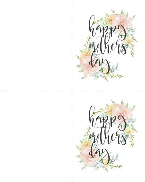 Free Printable Mothers Day Cards No