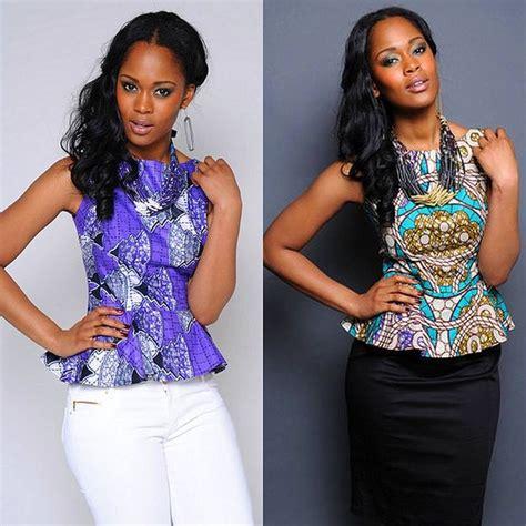 dam on pinterest african fashion ankara and peplum dresses how cute are these ankara peplum tops from kikoromeo