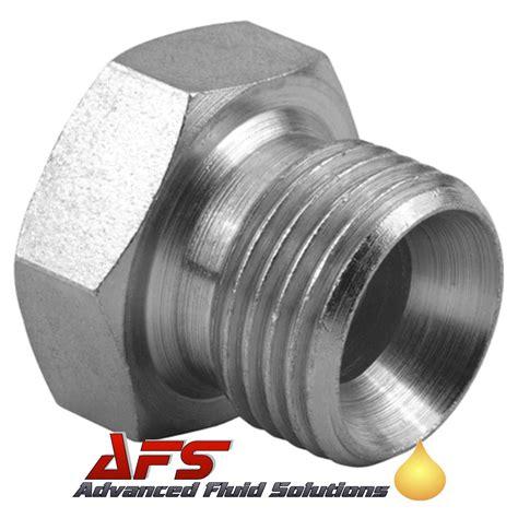 Hydraulic Adaptor 3 4 bspp coned blanking hydraulic adaptor bsp