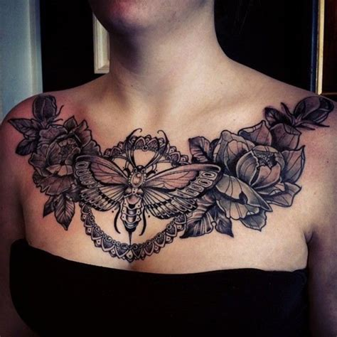 tattoo chest piece girl bee chest tattoo tattoo collection