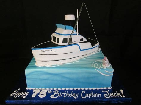 how to make a fishing boat cake topper fishing boat cake cakecentral