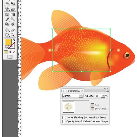 vector goldfish tutorial how to create a vector goldfish in six steps