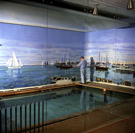 white house pool kn c22101 bernard lamotte paints white house swimming pool mural john f kennedy