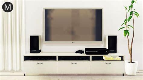sims  ccs   entertainment center set
