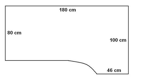 dimensione scrivania scrivania elettrica nera kombi destra 2l msp 180100kh 3