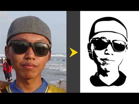 tutorial threshold hitam putih  photoshop youtube