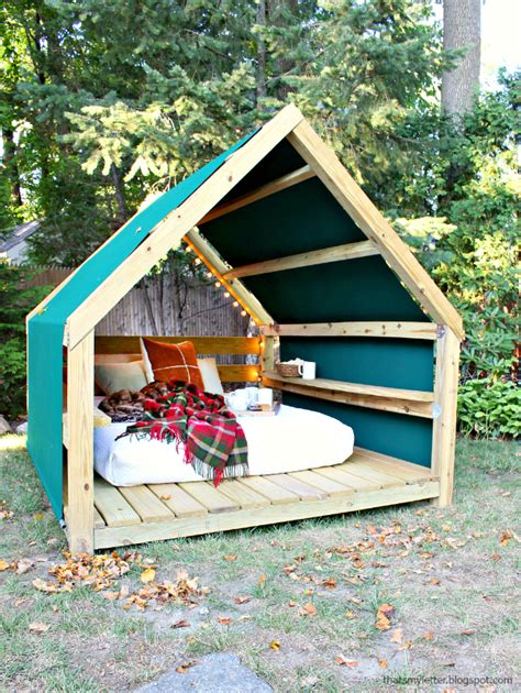build a cabana that s my letter build an outdoor cabana lounge