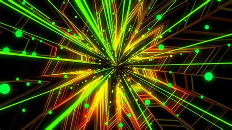 colorful acton ma vj tunnel by hk graphic videohive