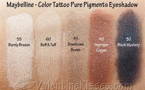 review color tattoo maybelline indonesia valentine kisses maybelline color tattoo pure pigments