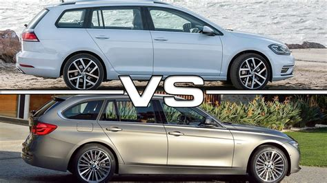 Bmw 3er 2018 Youtube by 2018 Volkswagen Golf Variant Vs 2016 Bmw 3 Series Touring