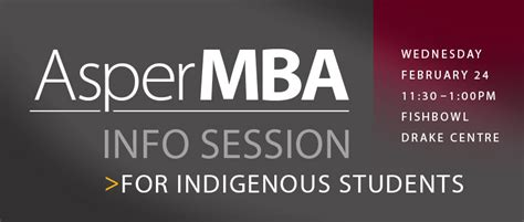 Uw Mba Information Session by Um Today Asper School Of Business Asper Mba Info