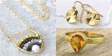 Handmade Gold Pendants - handmade jewelry