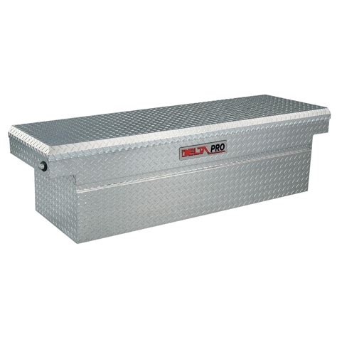 delta chion truck tool box delta 72 125 in aluminum single deep ford super duty and