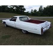 1975 Cadillac De Ville Pickup For Sale