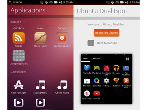 dual boot android ubuntu touch le dual boot avec android maintenant possible sur certains smartphones
