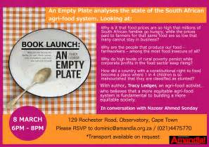 book plates dishes business and the state are enemies of sa s poor aidc alternative information
