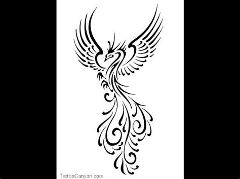 phoenix bird tattoo designs black bird tattoos 1000s of designs and