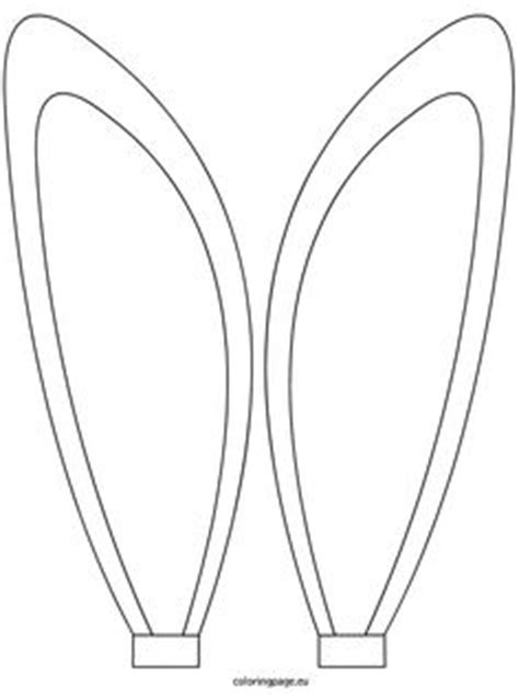 1000 Images About Templates On Pinterest Butterfly Bunny Ears Coloring Page