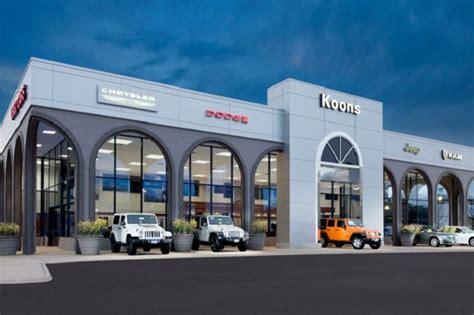Koons Chrysler Jeep Koons Tysons Chrysler Dodge Jeep Ram Chrysler Dodge