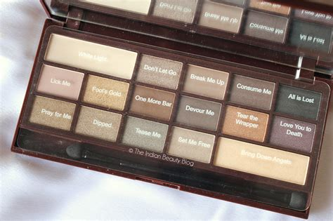 Eyeshadow 6 Chocolate Pallete Kmrx makeup revolution chocolate palette tutorial makeup products