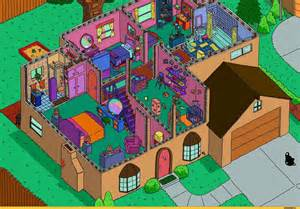 The Simpsons Floor Plan simpson s house interior the simpsons picture